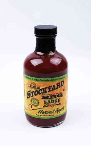 American Stockyard BBQ sauce - Harvest Apple  - sauce barbecue