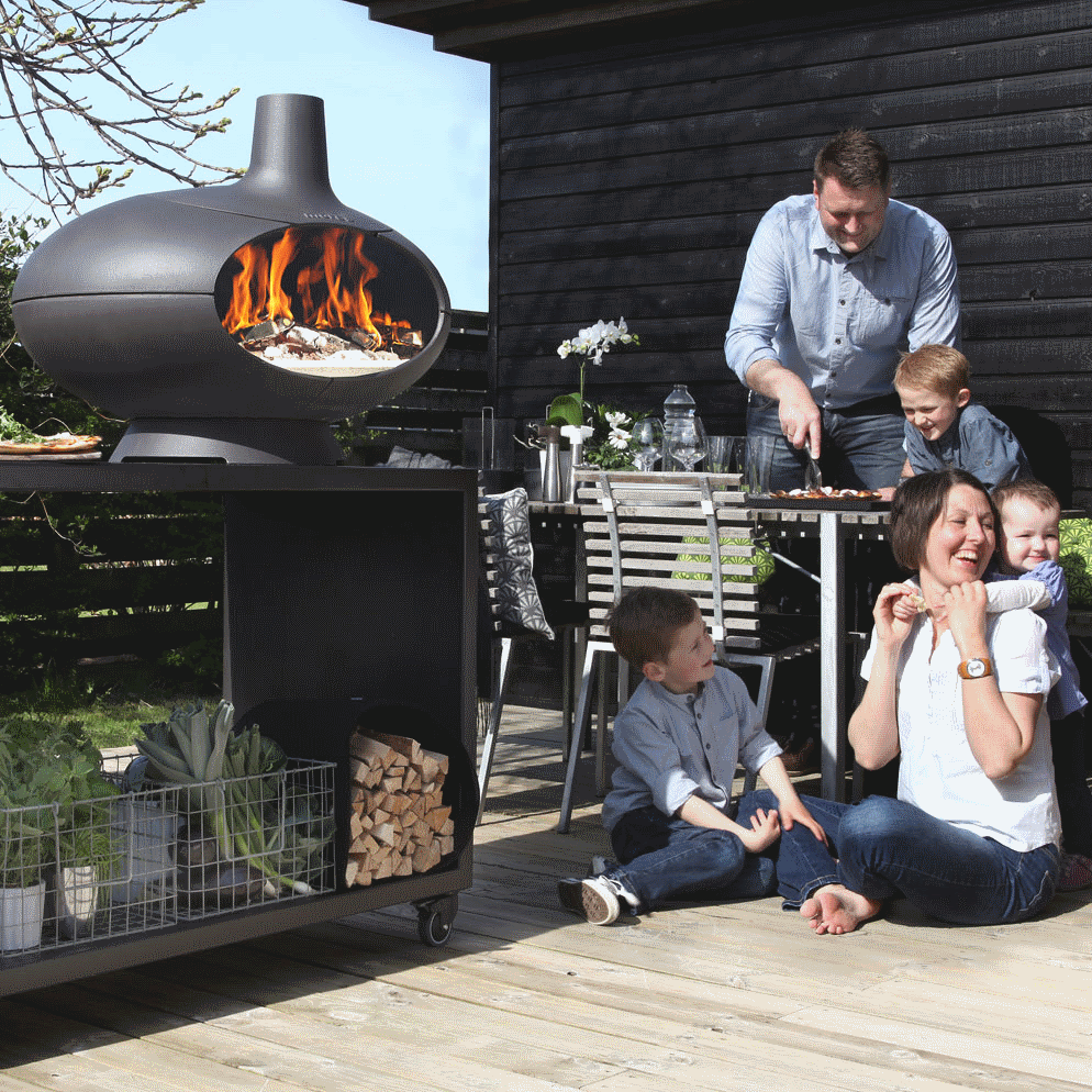 Morsø Forno Outdoor Pizza Grill And Wood Oven