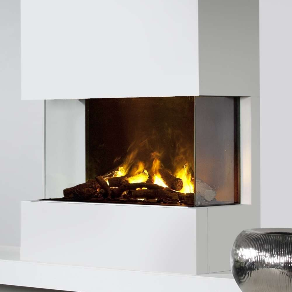 Opti Myst 3 Step Electric Insert Fire With 3d Flame Effect