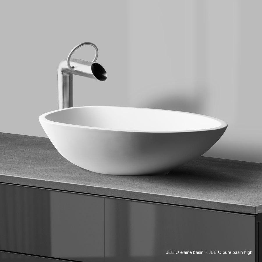 jee o pure bath colonne pour baignoire avec mitigeur et douchette en inox bross. Black Bedroom Furniture Sets. Home Design Ideas