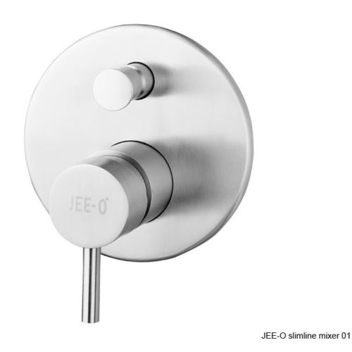 JEE-O Slimline design wall mount mixer with diverter