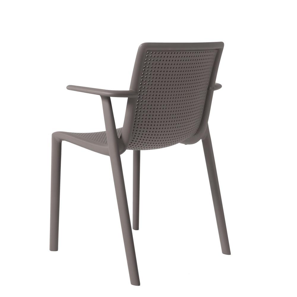 beekat chaise de jardin empilable avec accoudoir lm30. Black Bedroom Furniture Sets. Home Design Ideas