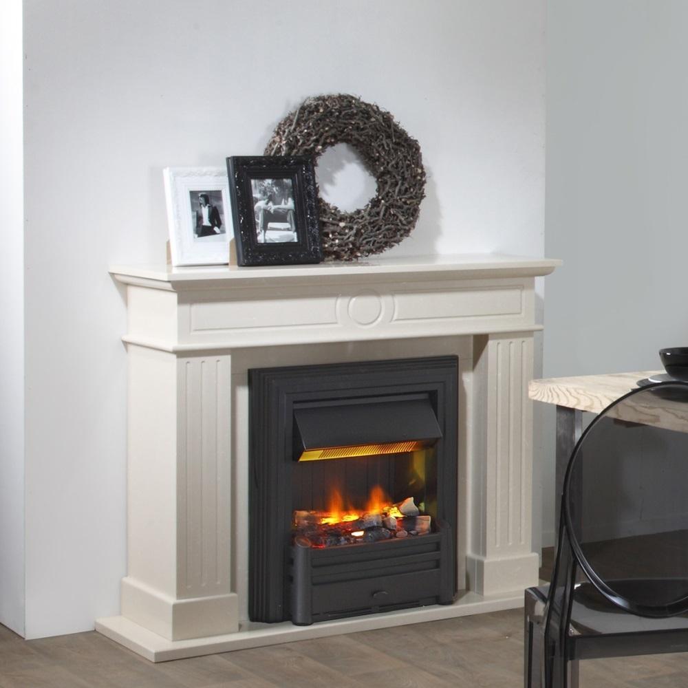 hemmet noir insert lectrique opti myst sans vitre pour. Black Bedroom Furniture Sets. Home Design Ideas