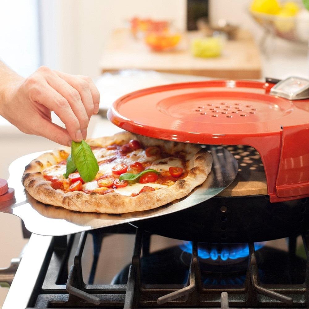 Four À Pizza Extérieur pizzeria pronto stovetop pizza oven - pc0601