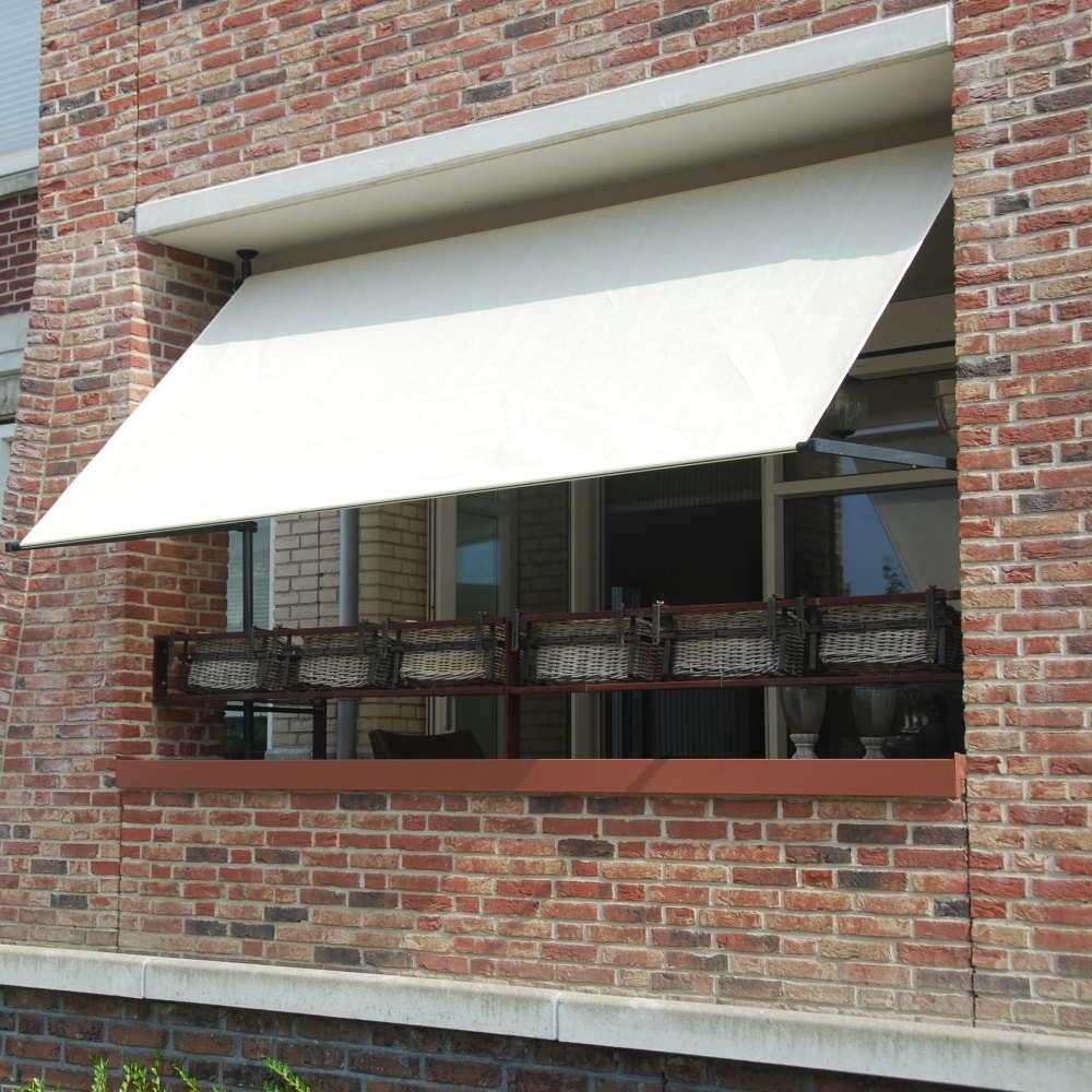 Voile D Ombrage Pour Store Banne store balcon sans vis - structure autoportante pour store