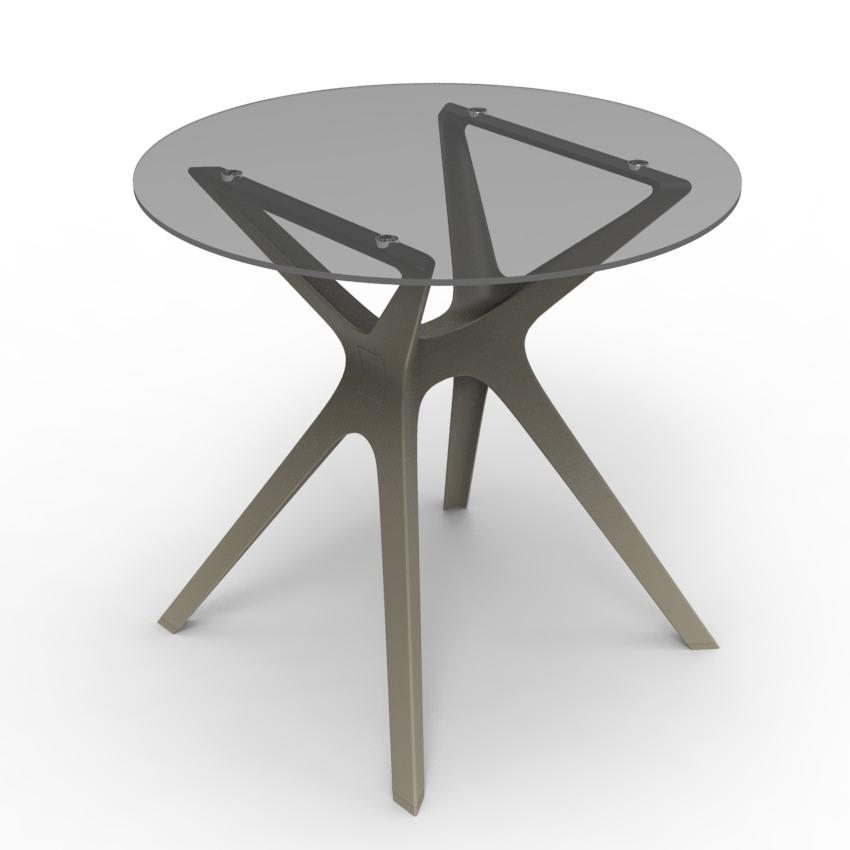 Vela S table de jardin - terrasse - CHR rond ou carré