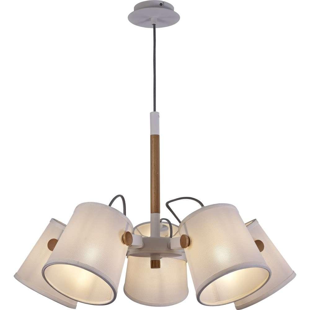 mantra nordica hanglamp wit hout 5l 75 cm scandinavisch design