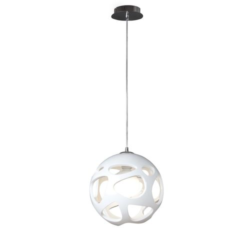 Mantra ORGANICA - Lustre suspension Ø27cm - blanc