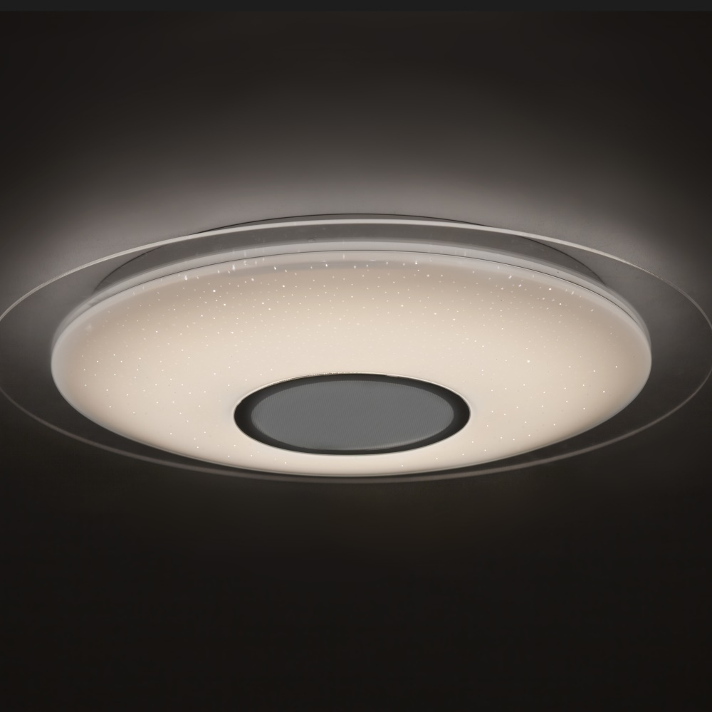 Mantra SPEAKER  - Ceiling lamp LED with music speaker and Bluetooth