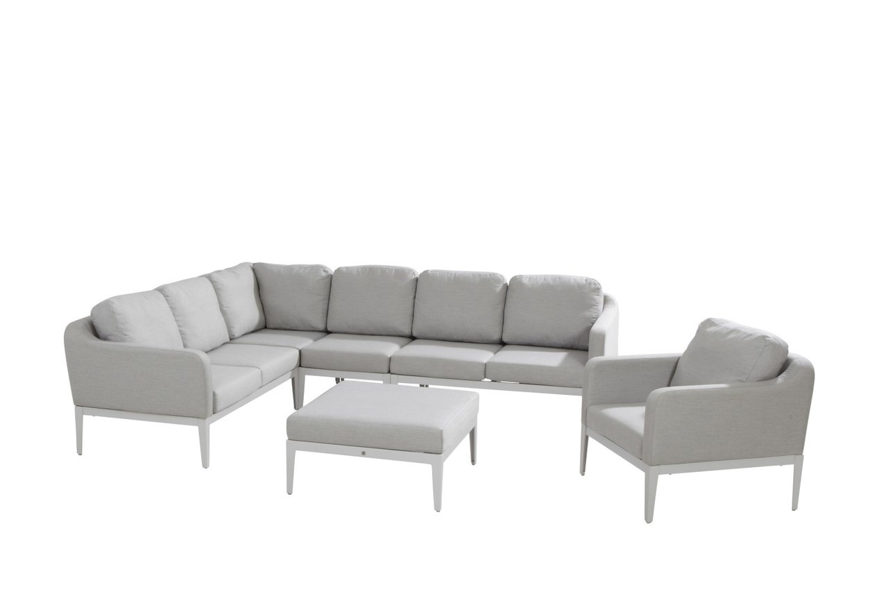 Lounge set Almeria - coffee table with 1 Sunbrella cushion