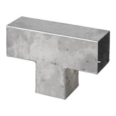 cubic connecteur t pour poteaux bois 7x7. Black Bedroom Furniture Sets. Home Design Ideas