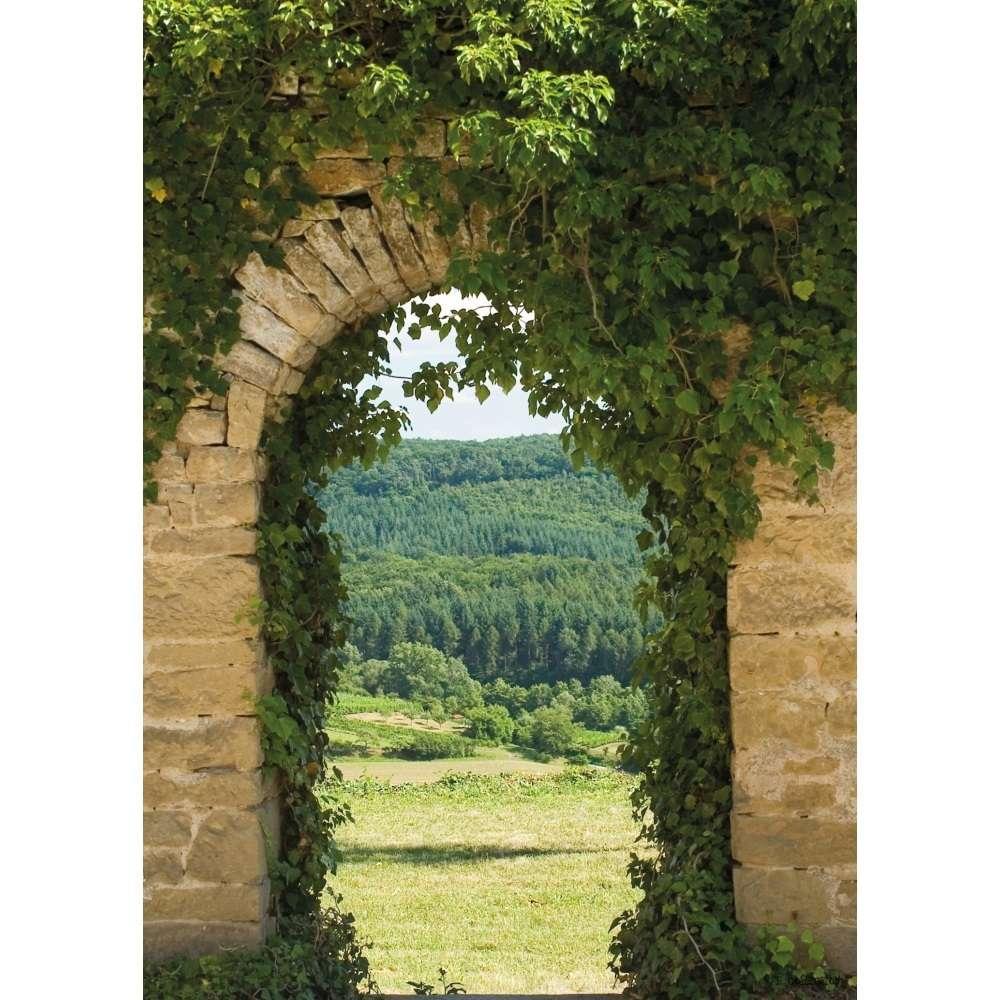 Trompe l\'œil Vallée - Cadre-tableau déco jardin - LM30 Lifestyle