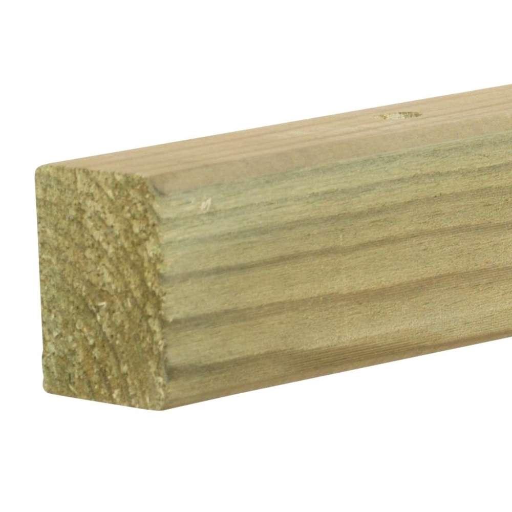 Fabriquer Un Brise Vue Bois tasseau pour brise-vue 36x45x1770mm en bois autoclave classe 4