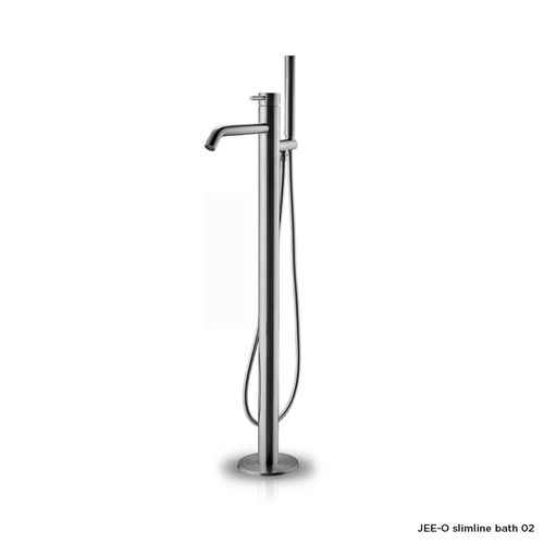 Slimline bath 02 design by JEE-O free-standing bath filler with mixer and hand shower