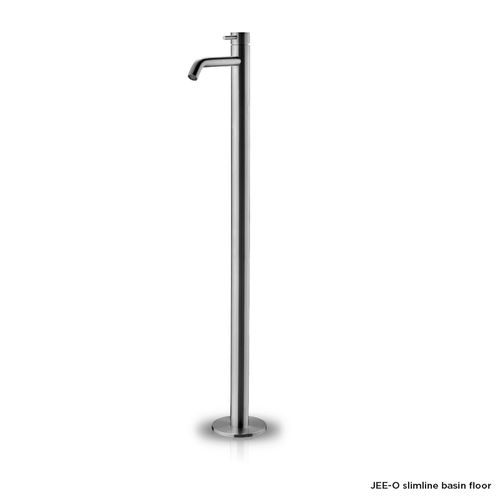 Slimline free-standing basin mixer floor design by JEE-O