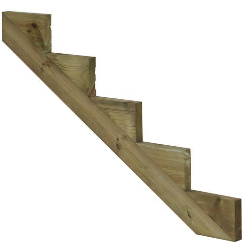 Comment faire un escalier en bois pour l\'extérieur ou jardin