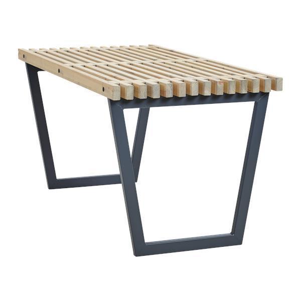 Siesta garden table 138cm northern pine wood outdoor-indoor - painted  driftwood color