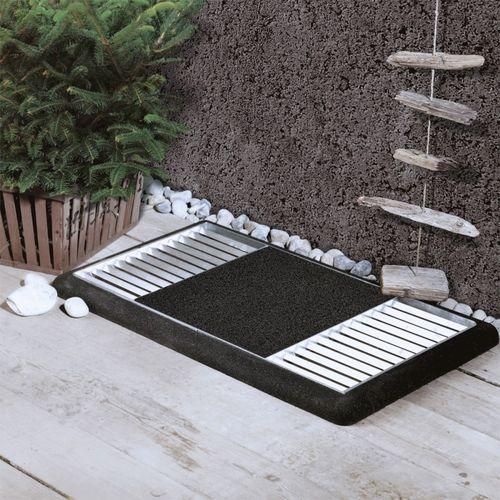 paillasson gratte pied design et r sistant pour l 39 ext rieur. Black Bedroom Furniture Sets. Home Design Ideas