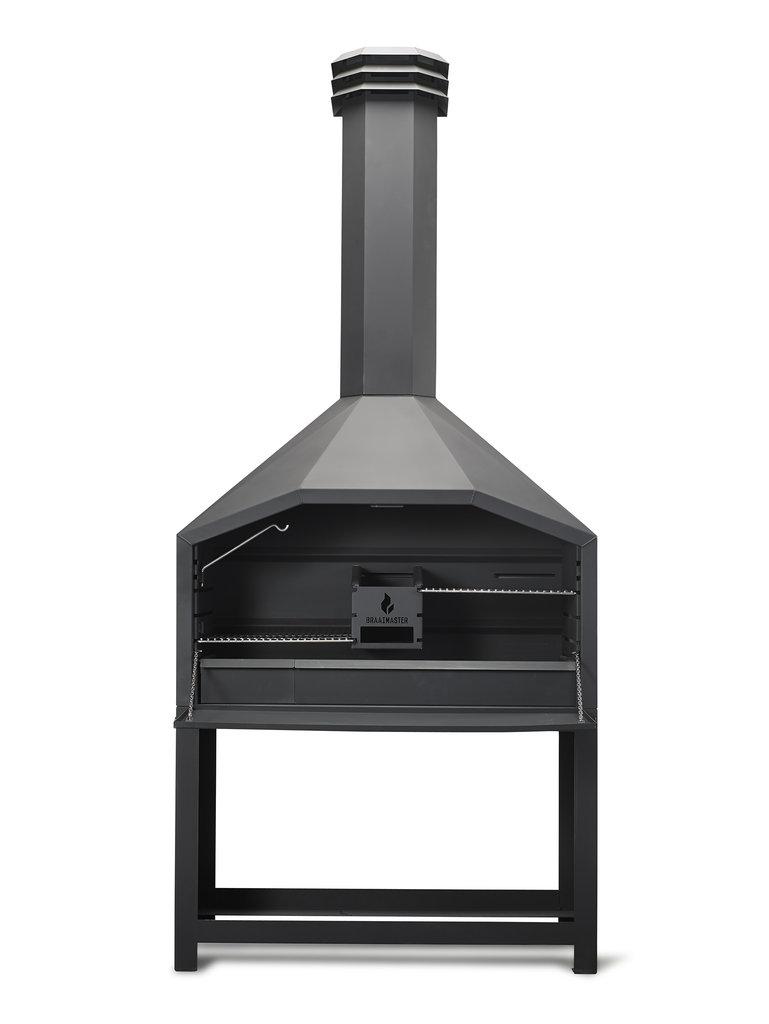 Prix Cheminee Exterieur Feu Chic Design braai - le barbecue à bois traditionnel sud-africain