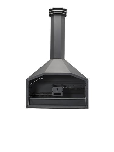 Braaimaster Braai Freestanding 1200 without support-wood-storage
