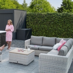 Elite Provance - salon de jardin lounge - salon de jardin jacuzzi