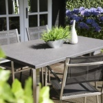 table de jardin design ou traditionelles - Plaza table terrasse