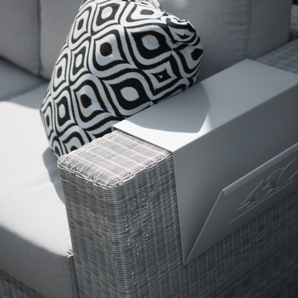 Lucca Polyloom Ice - lounge garden furniture in Ice rattan ...