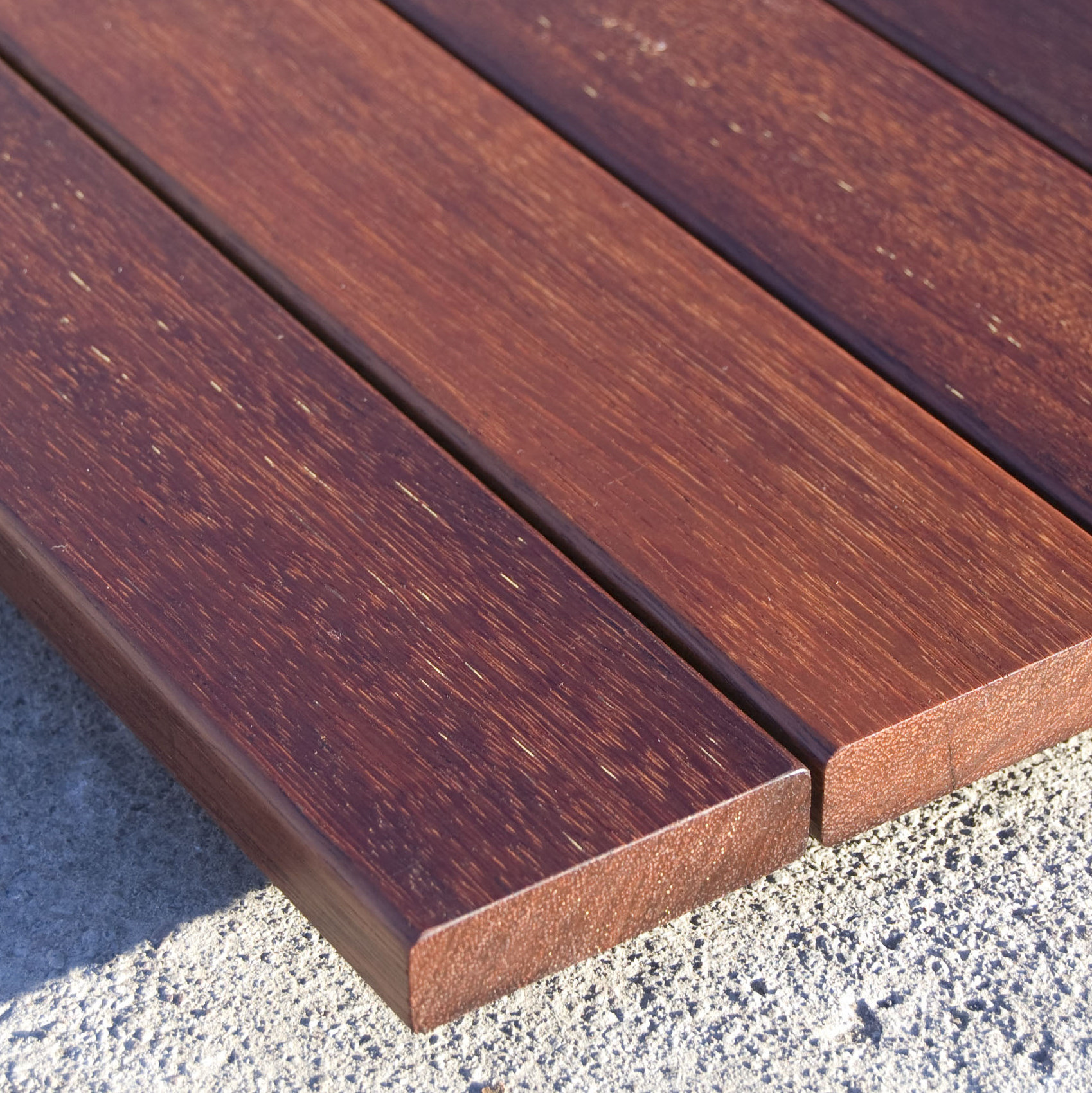 Tropical Hardwood For Garden And Decking