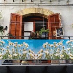 Brise vue décoratif pour le balcon - Tenue d\'Jardin