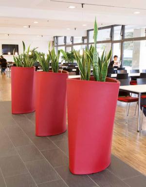 Grand pot fleur exterieur design tenue d 39 jardin - Pot de couleur pour jardin ...