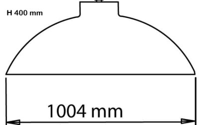 Heatsail Dome dimensions