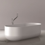 JEE-O Flow design bad with freestanding bath faucet