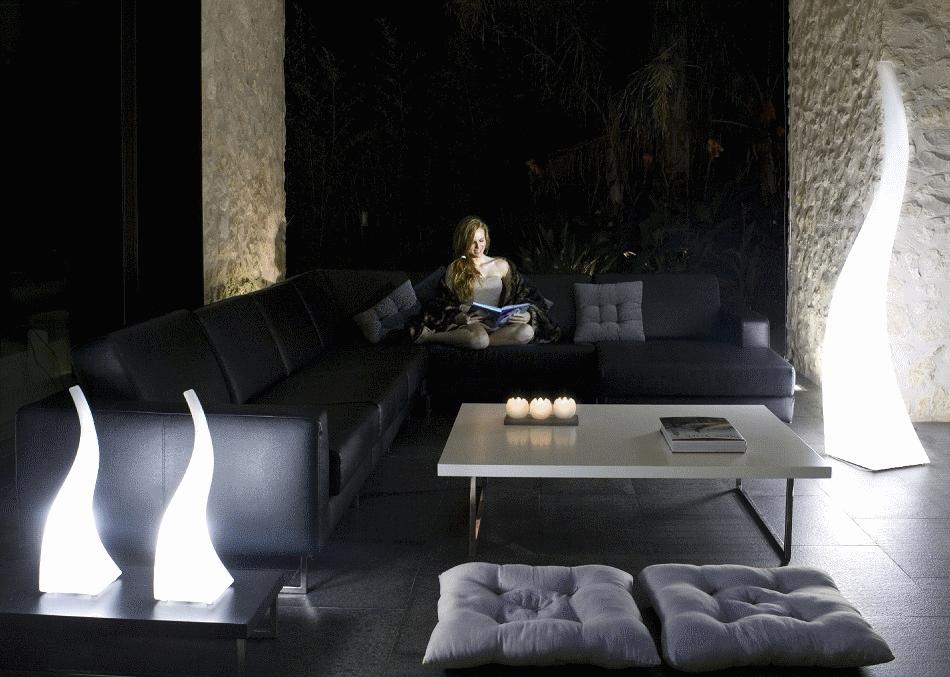 Design outdoor lighting and garden lamps