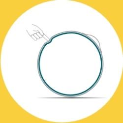 VEEL by VLUV by Hock design extraSAFETY: La double couche empêche l'usure, la déformation et la fissuration de la balle.